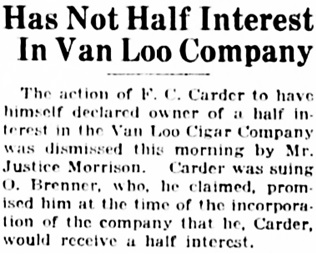 Vancouver Daily World, April 26, 1923, page 9, column 7.