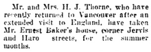 Vancouver Daily World, April 27, 1907, page 6, column 5.