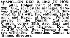 Vancouver Sun, December 3, 1942, page 14, column 2; https://news.google.com/newspapers?id=GfZlAAAAIBAJ&sjid=QYkNAAAAIBAJ&pg=2231%2C2133604.