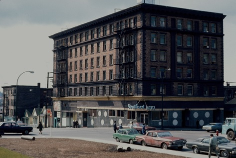 Hotel Stratford at 296 Keefer Street; 1972, Vancouver City Archives; CVA 780-450; https://searcharchives.vancouver.ca/hotel-stratford-at-296-keefer-street.