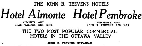 The Ottawa Citizen, June 22, 1922, page 15, lines 2-5.