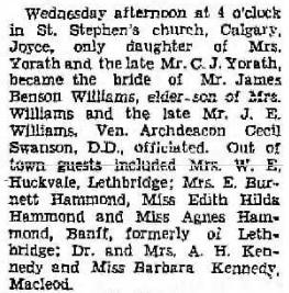 Lethbridge Herald June 30, 1938, page 10, column 1; https://lethbridgeherald.newspaperarchive.com/lethbridge-herald/1938-06-30/page-10/.