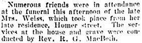 Vancouver Daily World, November 4, 1902, page 5, column 4.