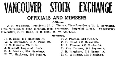 Vancouver Daily World, July 27, 1908, page 15, columns 6-7.