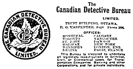 The Ottawa Citizen, April 10, 1907, page 11, columns 1-2.