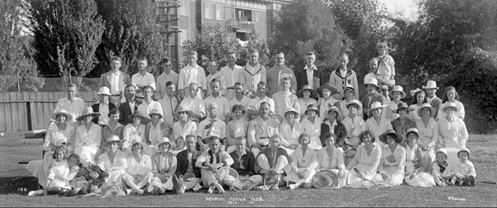 Denman Tennis Club 1917, Vancouver City Archives, CVA 99-5110; https://searcharchives.vancouver.ca/denman-tennis-club-1917.