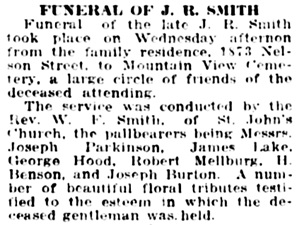 Vancouver Daily World, October 20, 1916, page 16, column 6.