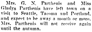 Vancouver Daily World, July 21, 1906, page 8, column 4.
