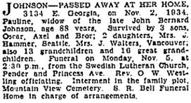 Vancouver Sun, November 3, 1934, page 22, column 1; https://news.google.com/newspapers?id=aPFlAAAAIBAJ&sjid=84gNAAAAIBAJ&pg=2185%2C443904.