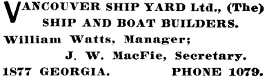 Henderson's BC Gazetteer and Directory, 1903, page 831.