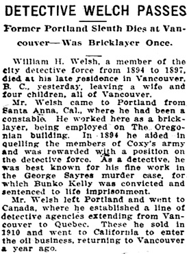 Morning Oregonian (Portland, Oregon), June 25, 1912, page 6, column 1; https://oregonnews.uoregon.edu/lccn/sn83025138/1912-06-25/ed-1/seq-6/.