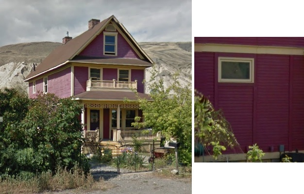 601 Brink Street, Ashcroft, British Columbia; Google Streets: searched September 24, 2017; image dated May 2012.