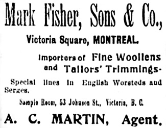 Vancouver Daily World, July 14, 1898, page 1, column 1.