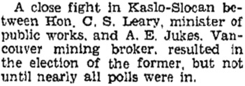 Prince George Citizen, October 23, 1941, page 5, column 4; http://pgnewspapers.pgpl.ca/fedora/repository/pgc:1941-10-23-05.