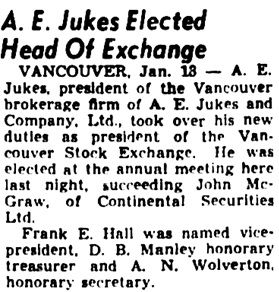 The Winnipeg Tribune, January 13, 1939, page 15, column 6.