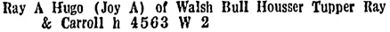 BC and Yukon Directory, 1935, page 1342.