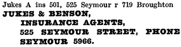 Henderson's Greater Vancouver City Directory, 1918, page 614.