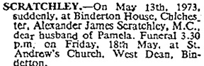 The Times (London, England), Wednesday, May 16, 1973; page 34.