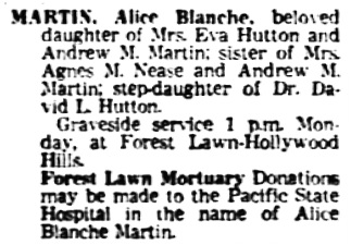 The Los Angeles Times, November 16, 1975, page 38, column 4.