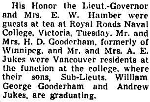 The Winnipeg Tribune, August 9, 1941, page 10, column 7.