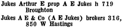 Wrigley Henderson Amalgamated British Columbia Directory, 1925, page 933.