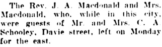 Vancouver Daily World, September 1, 1906, page 21, column 6.