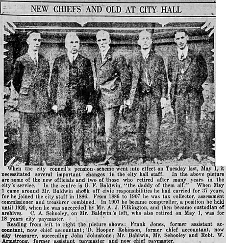 Vancouver Daily World, May 8, 1923, page 11, columns 1-3.