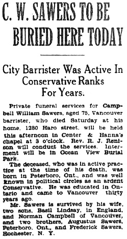 Vancouver Province, December 24, 1928, page 20.