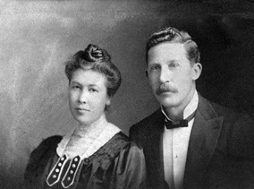 Captain and Mrs. William Watts, about 1912, Vancouver City Archives, Port P318; https://searcharchives.vancouver.ca/captain-and-mrs-william-watts.