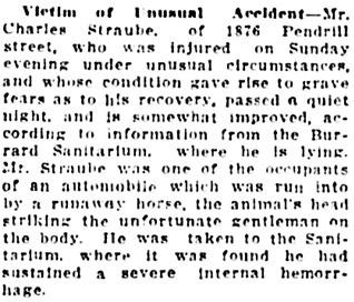 Vancouver Daily World, July 21, 1914, page 16, column 4.