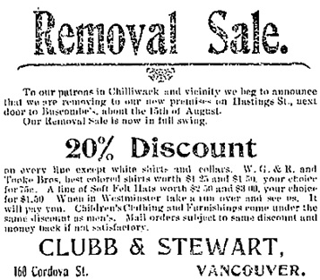 The Chilliwack Progress, August 27, 1902, page 5, columns 2-3.