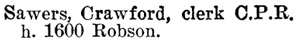 Henderson's BC Gazetteer and Directory, 1900-1901, page 914.