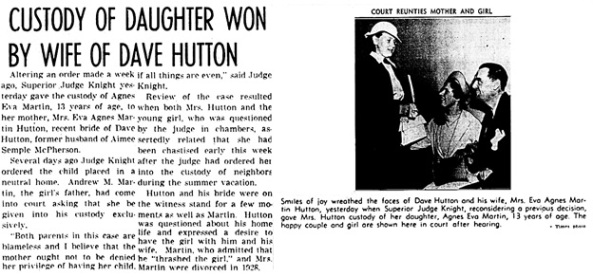The Los Angeles Times, June 19, 1937, page 3, columns 3-5.