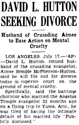 Tallahassee Democrat, July 17, 1933, page 8, column 6 (portion of article).