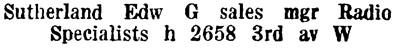 Wrigley Henderson Amalgamated BC Directory, 1924, page 1091.