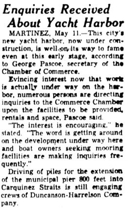 Oakland Tribune (Oakland, California), May 12, 1935, page 2B [32]; column 8. [It is not clear if there is any connection between George Pascoe and Chester Pascoe.]