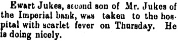 Notes from Brandon, The Winnipeg Tribune, January 17, 1895, page 2, column 3.