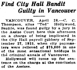 Victoria Daily Colonist, April 29, 1925, page 8, column 7; http://archive.org/stream/dailycolonist0325uvic_50#page/n7/mode/1up.