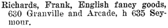 Henderson's BC Gazetteer and Directory, 1901, page 765.