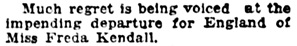 Social Events, Vancouver Daily World, August 22, 1919, page 6, column 2.