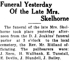 Nanaimo Daily News, March 22, 1923, page 3, column 4 [first portion of article].