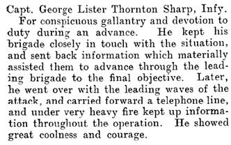 The London Gazette, publication date: November 5, 1918, supplement: 30997, page: 13176; https://www.thegazette.co.uk/London/issue/30997/supplement/13176.