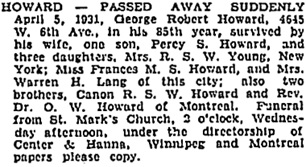 Vancouver Sun, April 7, 1931, page 16, column 1; https://news.google.com/newspapers?id=R6tlAAAAIBAJ&sjid=xIgNAAAAIBAJ&pg=1615%2C699887; [same as notice in Vancouver Province, April 7, 1931, page 3, column 2].