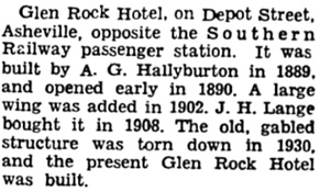 Asheville Citizen-Times; Asheville, North Carolina, March 26, 1950, page 122.