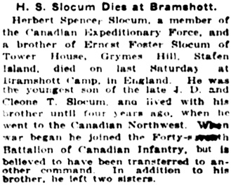 The New York Times, June 30, 1916, page 11, column 5.