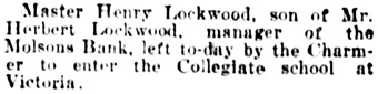 Vancouver Daily World, October 15, 1902, page 4, column 3.