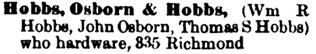 London City and Middlesex County Directory, 1886, page 148.