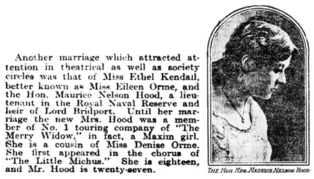 The Philadelphia Inquirer (Philadelphia, Pennsylvania), December 13, 1908, page 14, column 3.