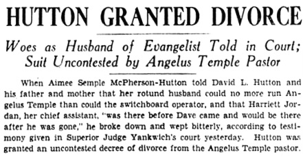 The Los Angeles Times, March 2, 1934, page 17, columns 6-7.