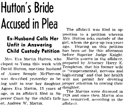 The Los Angeles Times, May 5, 1937, page 29, column 5.